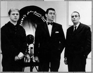 Stedelijk Museum Amsterdam 1962 Heinz Mack, Otto Piene und Günther Uecker anlässlich der Ausstellung NUL Foto: Raoul Van den Boom Copyright: ZERO foundation