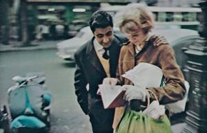 Peter Cornelius, Aus der Serie 'Farbiges Paris', 1956-1961, © Courtesy Nachlass Peter Cornelius-d´Hargues