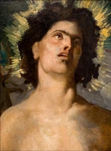 St. Sebastian, Puvis de Chavannes, 2011 Archival pigment Print 20 x 15 inches; 51 x 38 cm Courtesy die Künstlerin und Matthew Marks Gallery, New York
