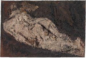 Frank Auerbach  E.O.W. Nude, 1953-4  Öl auf Leinwand / Oil paint on canvas 50,8 x 76,8 cm  Tate  © Frank Auerbach