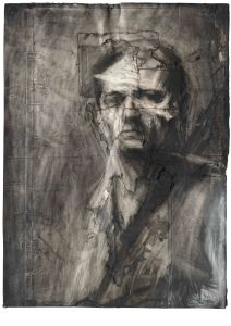 Frank Auerbach  Self-portrait 1958  Daniel Katz Gallery, London  © Frank Auerbach  Photo: Prudence Cumings Associates Ltd