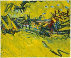 Frank Auerbach  The Origin of the Great Bear, 1967-8  Öl auf Holz / Oil paint on board 114,6 x 140,2 cm Tate  © Frank Auerbach