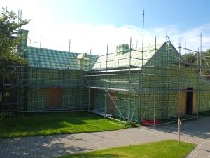 Lily van der Stokker, Het Groen Geruite Huis (The Green Chequered House), 2015, Raversyde