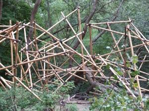 A Dog Republic Bamboo towers, De Nachtegaal
