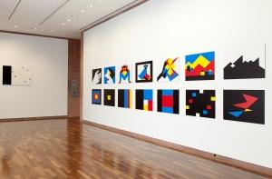 Ausstellungsansicht Ulrich Rückriem © Kunsthalle Bielefeld