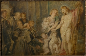 Peter Paul Rubens (1577-1640) Christus, Beschützer der Waisen Öl auf Holz, Maagdenhuismuseum (OCMW Antwerpen), Inv.Nr. 140 Bildnachweis© Collection Maagdenhuismuseum (OCMW ANTWERPEN, B), Photocredit: KIK / IRPA, Brussels