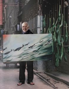 Andreas Schmidt: Gerhard Richter aus Fake Fake Art (2012) © Andreas Schmidt