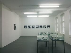 Ausstellungsansicht Benyamin Reich 'Black Stars' FAK Münster