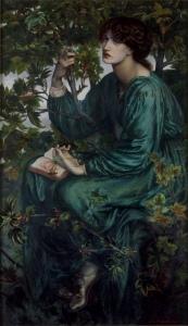 Dante Gabriel Rossetti: Der Tagtraum, 1880 Victoria and Albert Museum, London
