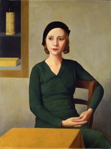 """Antonio Donghi: Donna al caffè (Frau im Café), 1931. © 2015 Archivio Fotografico - Fondazione Musei Civici di Venezia"""""""