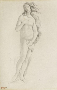 Edgar Degas: Venus (nach Botticelli), 1858/59 Peter Schälchli, Zürich