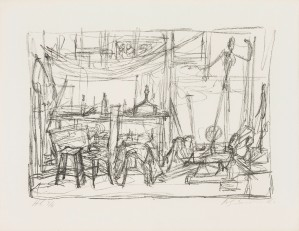 Atelier II, 1954, Lithografie, 50 x 65 cm, Collection Fondation Marguerite et Aimé Maeght, Saint Paul