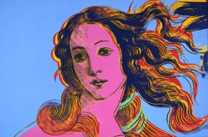 Andy Warhol: Details of Renaissance Paintings (Sandro Botticelli, Birth of Venus, 1482), 1984. Collection of The Andy Warhol Museum, Pittsburgh. © 2015 The Andy Warhol Foundation for the Visual Arts, Inc. / Artists Rights Society (ARS), New York