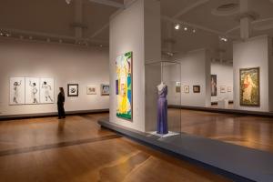 """Ausstellungsansicht """"The Botticelli Renaissance"""" Staatliche Museen zu Berlin, 2015 / Achim Kleuker"""