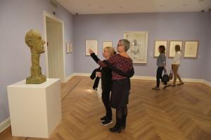 Ausstellungsansicht 'Alberto Giacometti - Meisterwerke aus der Fondation Maeght'