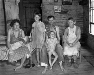 Walker Evans, Sharecropper's Family, Hale County, Alabama 1936 Museum of Modern Art, New York