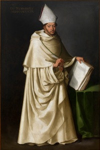 Francisco de Zurbarán Fray Pedro de Oña, um 1630 Öl auf Leinwand, 207 × 136 Colección Municipal. Ayuntamiento de Sevilla © Colección Municipal, Ayuntamiento de Sevilla