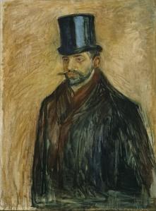 Edvard Munch, Porträt Julius Meier- Graefe, um 1895, Nationalgalerie Oslo Foto: Jacques Lathion