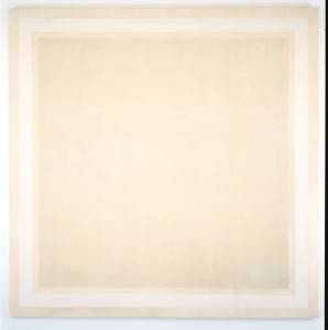 Agnes Martin, The Field, 1965, Grafit und Öl auf Leinwand, 188 x 188 cm, E.ON Art Collection, © VG Bild-Kunst, Bonn, 2015 Foto: © Kunstsammlung NRW