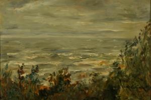 Lovis Corinth Das Meer bei Zoppot, 1906, Öl auf Malpappe, 48 x 71 cm © Stiftung Situation Kunst