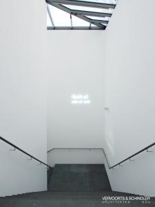 Museum unter Tage Innenansicht, Eingangsbereich Foto: Eric Polenz, Vervoorts & Schindler Architekten BDA