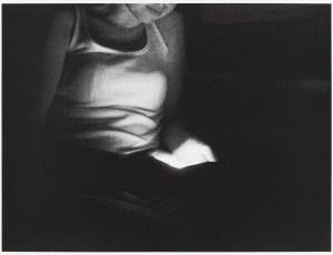 Norman Sandler (geb. 1981) o.T. / LIGHTS 2, 2014 Siebdruck / Papier 50 x 65 cm Foto: Tobias Hübel