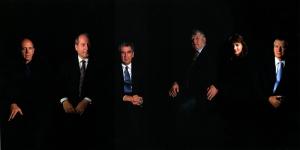Clegg & Guttmann, Group Portrait of Bundesministers, 2000, 113 x 169 cm; Courtesy Galerie Nagel Draxler, Berlin/Köln
