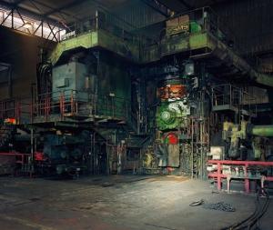 Hot Rolling Mill, ThyssenKrupp Steel, Duisburg 2010 Chromogenic Print, 181,0 x 212,0 cm © Thomas Struth