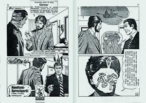 Sigmar Polke Diabolik, 1979 Collage auf den Seiten eines Comic-Hefts, 19,5 x 12,5 x 1 cm Privatsammlung © The Estate of Sigmar Polke / VG Bild-Kunst, Bonn 2016 Foto: Heinrich Miess, Köln