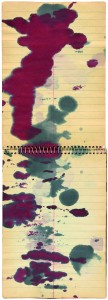 Sigmar Polke Ohne Titel (Stenogramme), 1985 DIN A5 Ringheft, Tinte, 21,2 x 14,5 cm Privatsammlung © The Estate of Sigmar Polke / VG Bild-Kunst, Bonn 2016; Foto: Lothar Schnepf, Köln