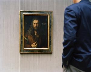 Thomas Struth, Alte Pinakothek, Selbstportrait, München 2000, C-Print © Thomas Struth