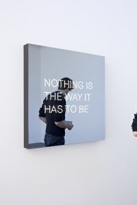 Jeppe Hein_Nothing is the way it has to be
