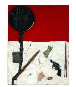 Paysage de la mort ou Collage de la mort, 1960