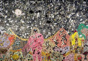Pink nude in landscape / [Eurydice Redeviva], circa 1956-1958