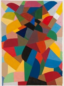 """Otto Freundlich, """"Komposition"""" von 1940WHM-Inventar 458/15"""