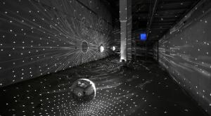 Das Zentrum für internationale Lichtkunst Unna am 8. Mai 2012