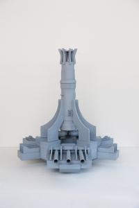 "Skulptur aus der Serie ""Luftschachtstudien I -IV"", Philip Topolovac, 2012"