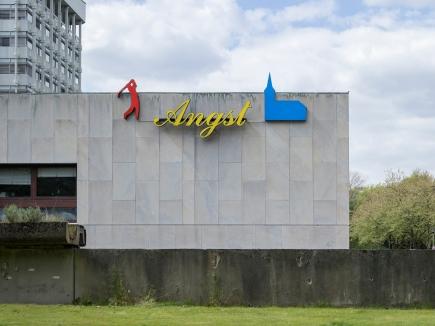 Ludger Gerdes, Angst, 1989, Standort Marl, © Skulptur Projekte 2017, Foto: Henning Rogge