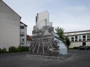 Peles Empire (Barbara Wolff und Katharina Stöver), Sculpture, © Skulptur Projekte 2017, Foto: Henning Rogge