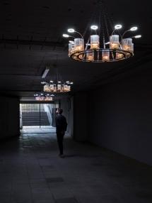 Aram Bartholl, 3V, © Skulptur Projekte 2017, Foto: Henning Rogge