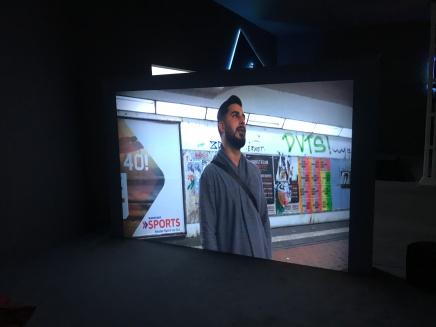 Zauri Matikashvili, 'Im Tunnel', Film, 34:28 min.