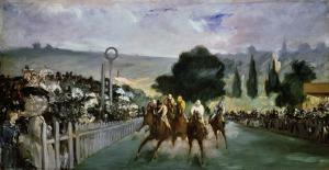 Manet_Die Rennbahn von Longchamps_1867