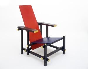Revolution in rotgelbblau gerrit rietveld und die zeitgen ssische kunst marta herford - Rot blauer stuhl ...