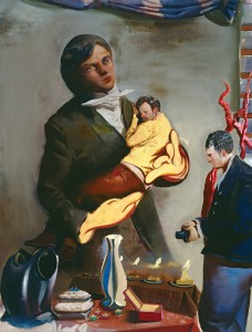 Neo Rauch, Vater, 2007, 200x150 cm, Collectie Ruth