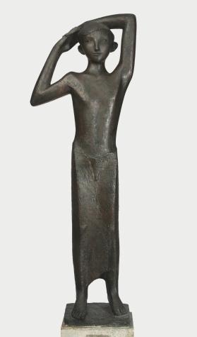 Kurt Lehmann Hirtenjunge / Young shepherd 1936–1954 Bronze / Bronze Sprengel Museum Hannover Foto / Photo: Herling / Hering / Werner, Sprengel Museum Hannover © Stiftung Kurt Lehmann, Staufen