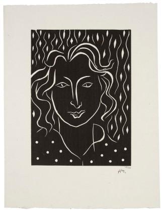 Henri Matisse, Primavera, 1938, Linolschnitt, © Succession H. Matisse, VG Bild-Kunst, Bonn 2018