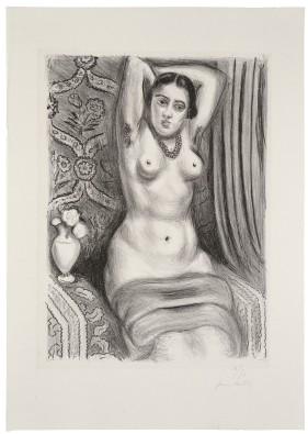 Henri Matisse, Torse à l'aiguière, 1927, Lithografie, © Succession H. Matisse, VG Bild-Kunst, Bonn 2018