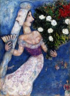 Marc_Chagall__Braut_mit_zwei_Gesichtern__1927__c__VG_Bild-Kunst__Bonn_2018