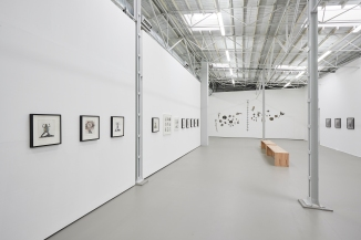 Mary Beth Edelson: Nobody Messes with Her Ausstellungsansicht Kunsthalle Münster Courtesy of the artist and David Lewis, New York Foto: Volker Renner