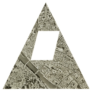 Sol Lewitt, A Triangle of Florence without a Parallelogram, 1970 © VG Bild-Kunst, Bonn 2020